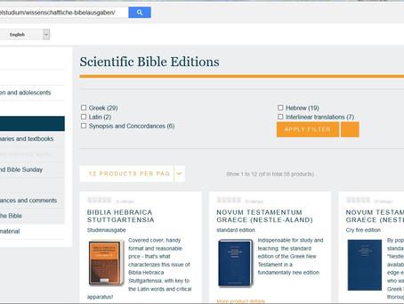 Scientific Bibles - What?