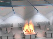 Пожаротушение в офисных помещениях