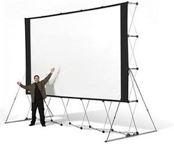 large audience screen