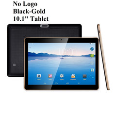 Tablet No Logo Black-Gold 10.1 inch Tabl