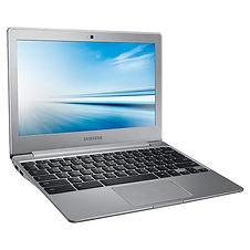 Sleek silver Samsung Laptop