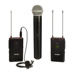 hand and lav mics