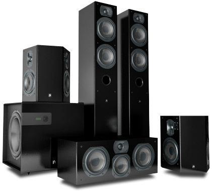 large audience sound system