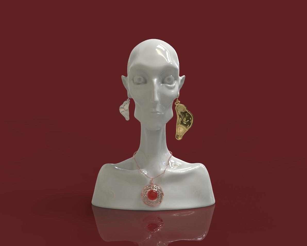 Zbrush-JewelryBust
