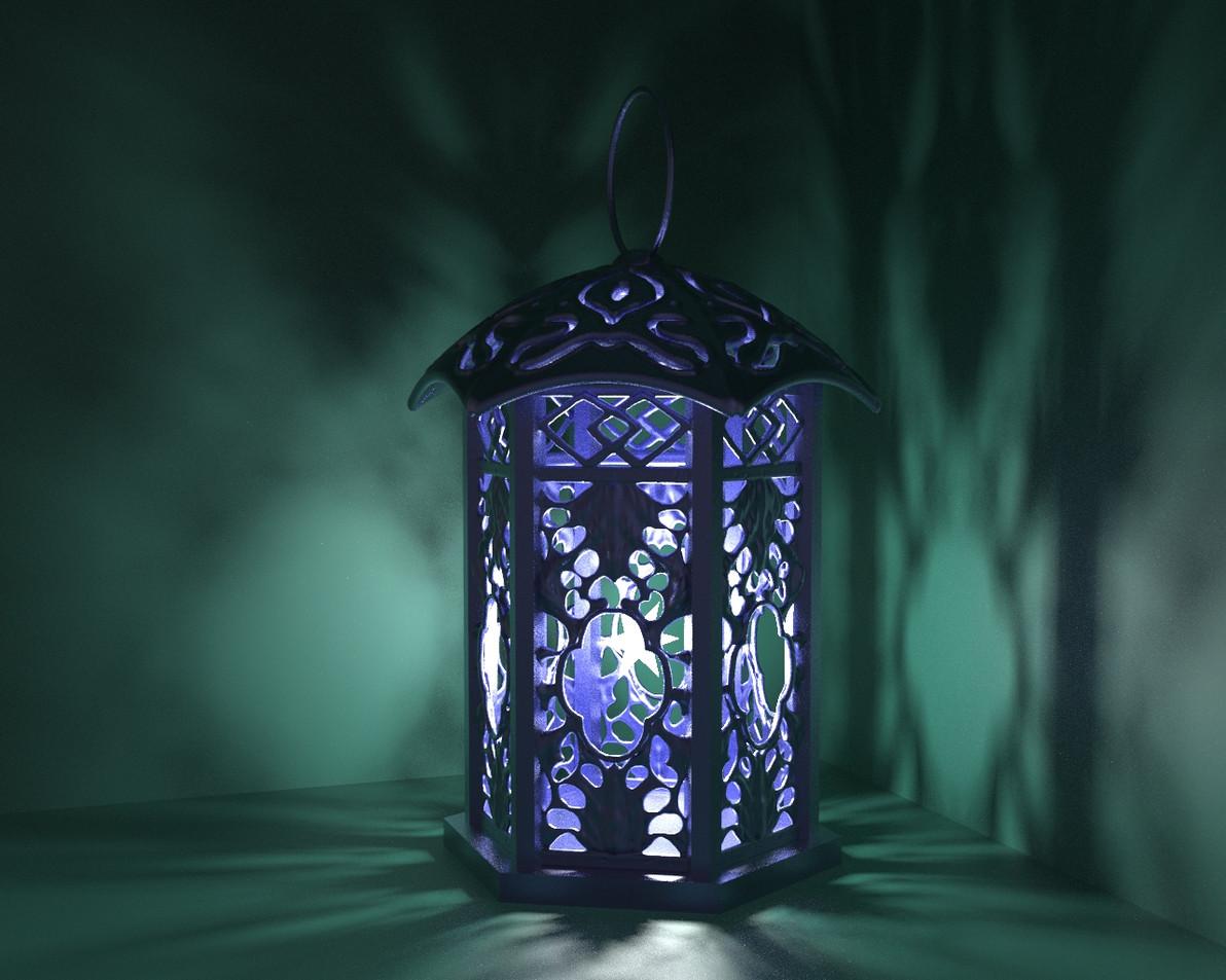 Zbrush-lantern