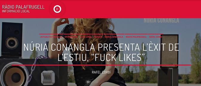 Radio Palafrugell - Fuck Likes - Nuria C