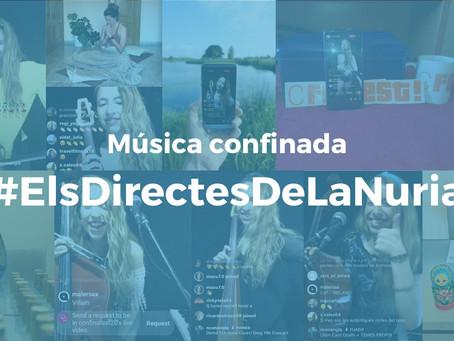 #ElsDirectesDeLaNuria Confinats