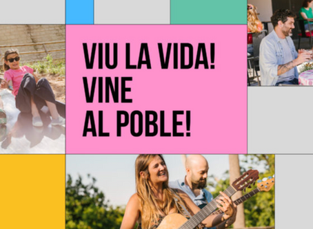Música en viu al Poble Espanyol!