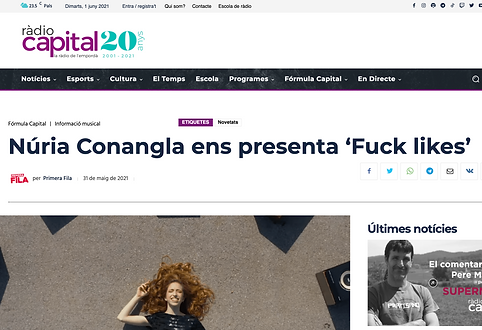 FUCK LIKES Nuria Conangla Radio Capital_