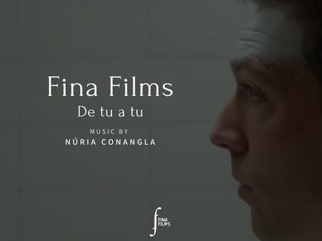 """Ja a Spotify la banda sonora de l'espot """"De tu a tu"""" de Fina Films!"""