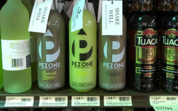 Pezone looking good on shelves at PA. Wi