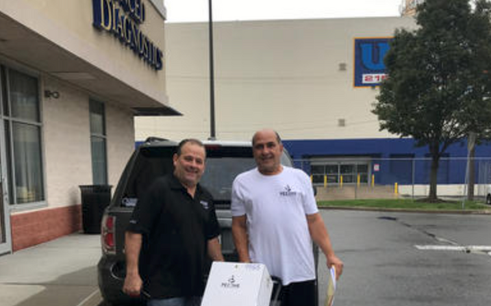 Sal and Danny make first Wine and Spirit delivery.