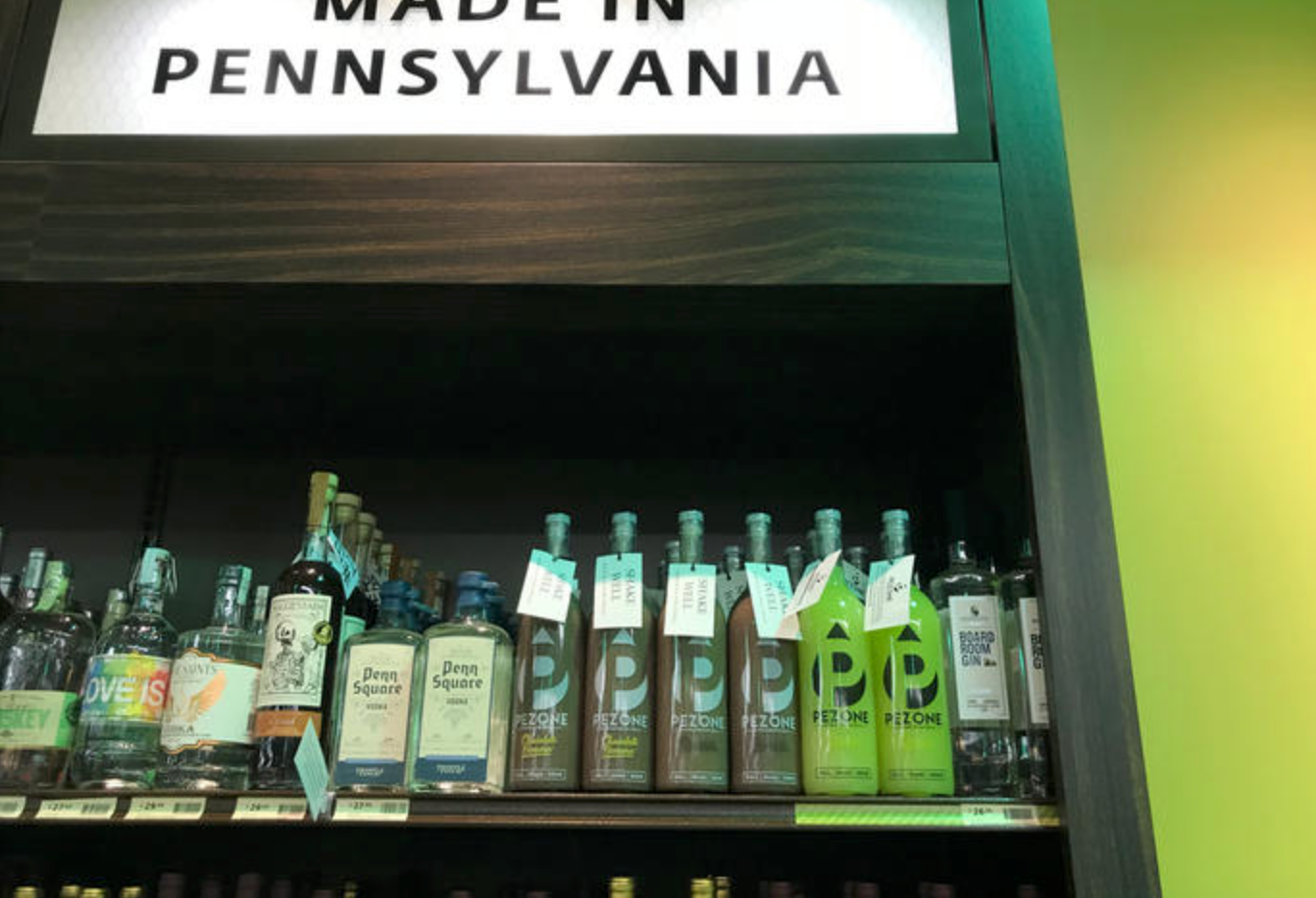 Pezone hits PA. Wine and Spirits