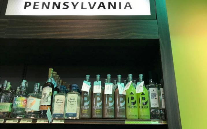 Pezone hits PA. Wine and Spirits