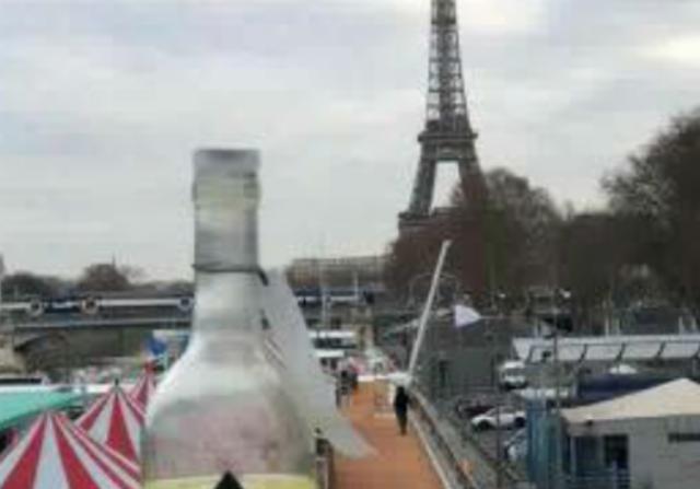 Pezone makes it to Paris !!!
