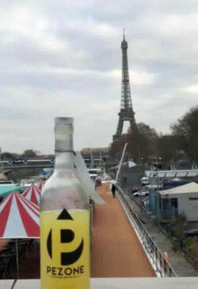 Pezone makes it to Paris !!!