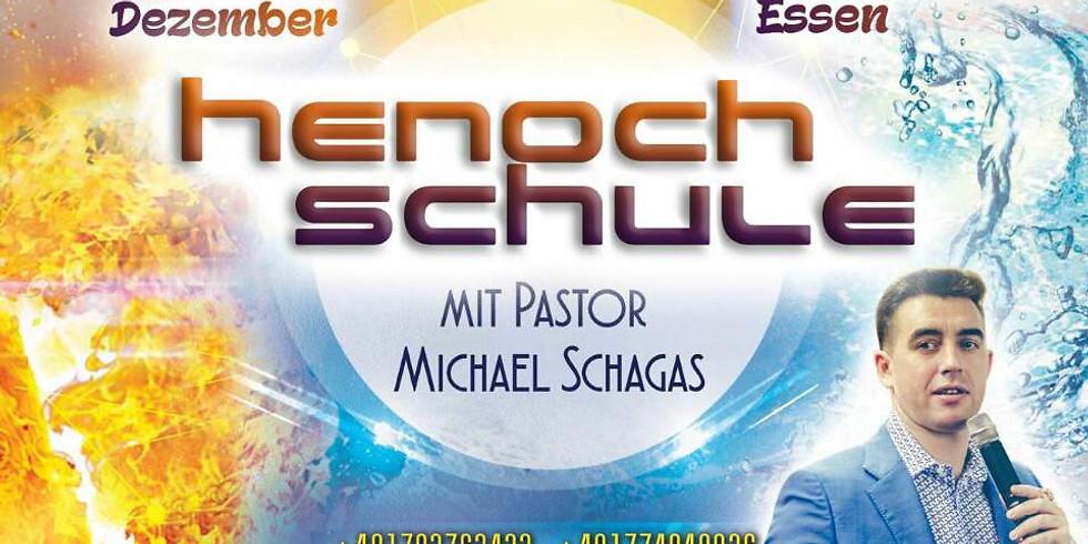 """Henoch-Schule mit Pastor Michael Shagas: """"Die übernatürliche Herrlichkeit Gottes"""""""