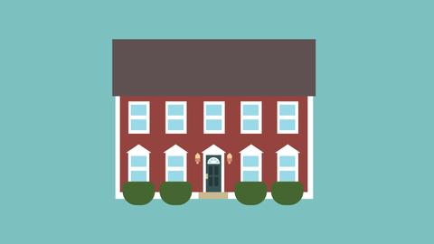 House Animation loop