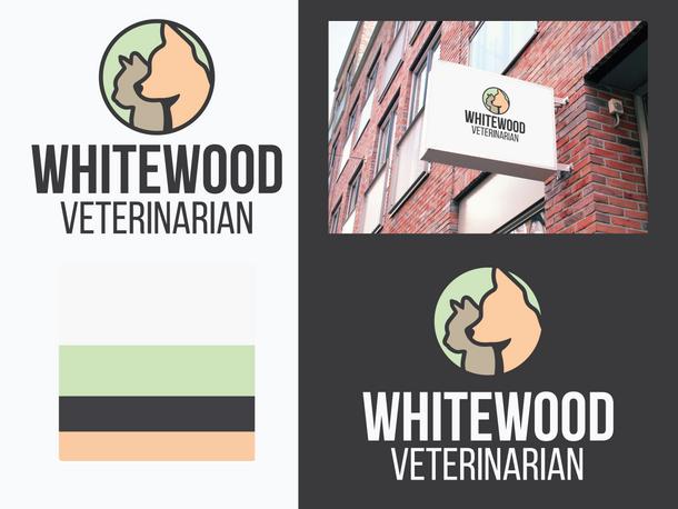 Whitewood Veterinarian Branding