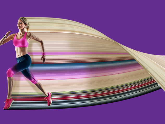 Pixel Stretch Effect - Runner