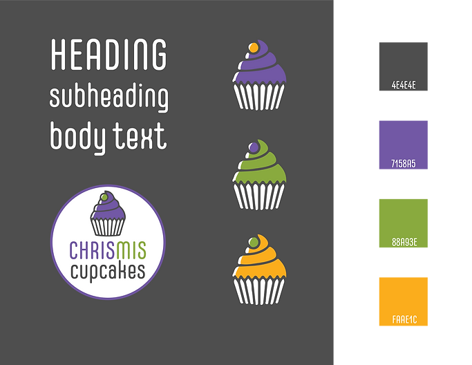 ChrisMis Cupcake Branding Guidebook _ co