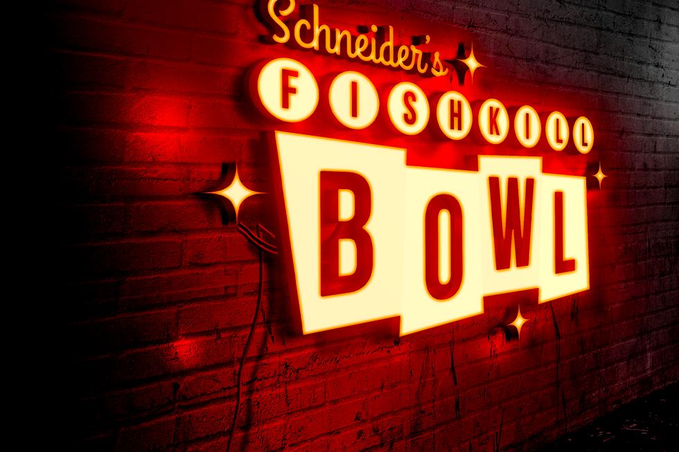 Fishkill Bowl Neon Light