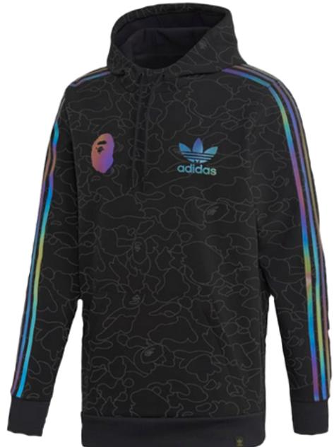 bape x adidas hoodie tech