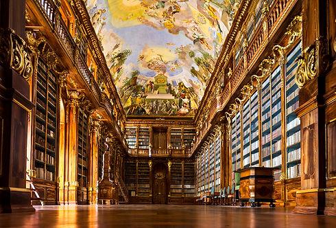 Historical library of Strahov Monastery