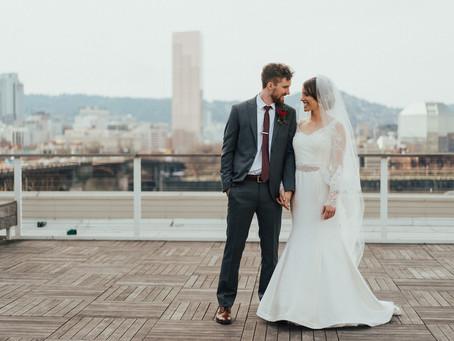 Brooke + Jonathan Portland Wedding @Eastside Exchange