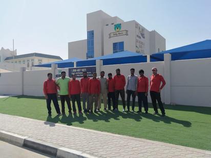 Distribution company in Abu Dhabi