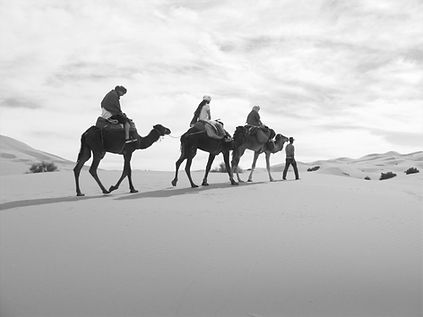 Morocco-Sahara-desert-camel-trekking-Sea