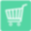 Carro de compras verde