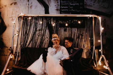 Edgy Wedding vibes