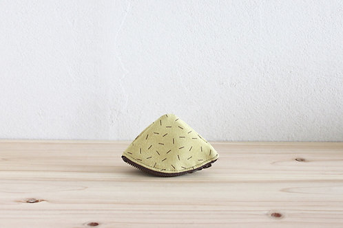 Mt.pouch(s) suede SHIBA Light green