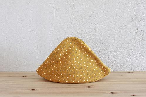 Mt.pouch canvas SHIBA Mustard