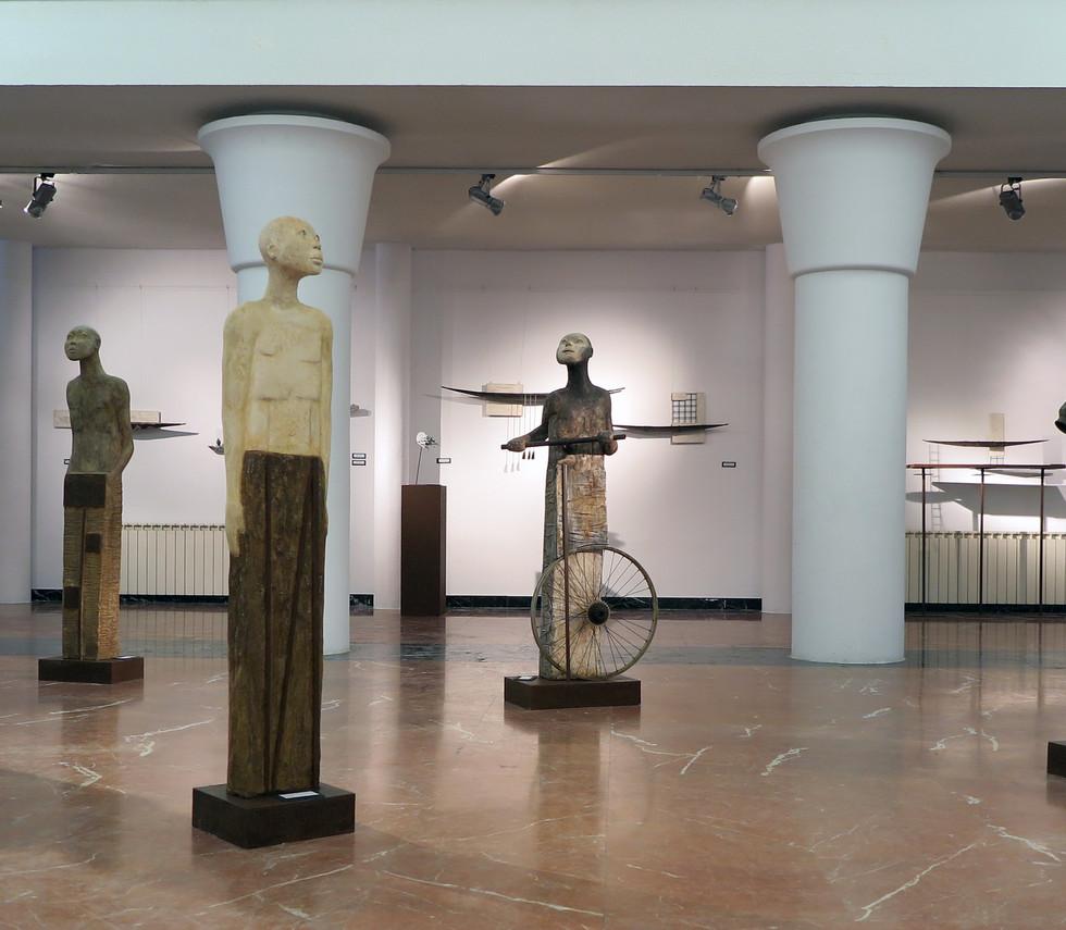 Exposicion esculturas Antonio Madueño de