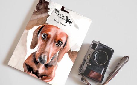 Diseño y Realización del Media Kit de Dog Friendly Traveler