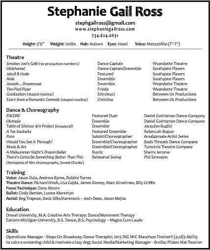 dancer runner pilates instructor - Pilates Instructor Resume