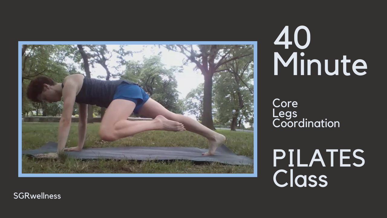 40 Minute Intermediate PILATES Class