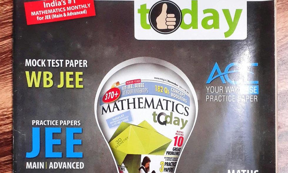 Mathematics today, February 2016