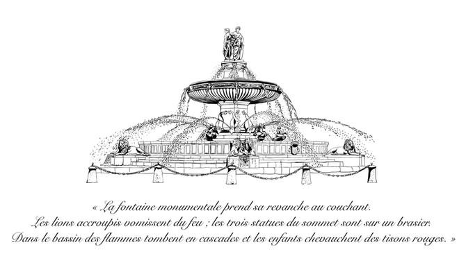 """""""La Rotonde"""" à Aix en Provence"""