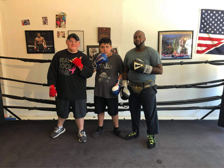 Great Job Sparring Today