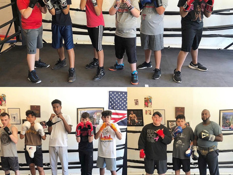 Kids Sparring Today