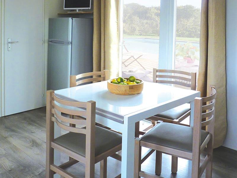 Siblu mobil home Casita cuisine