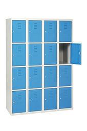 casiers vestiaires métallique CABSAN SAS 16 CASES