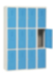 vestiaire métallique CABSAN FRANCE Casiers vestiaires métallique et compact 12 cases