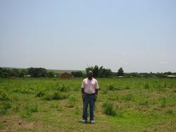 Dr. Martin Kabongo at the Site