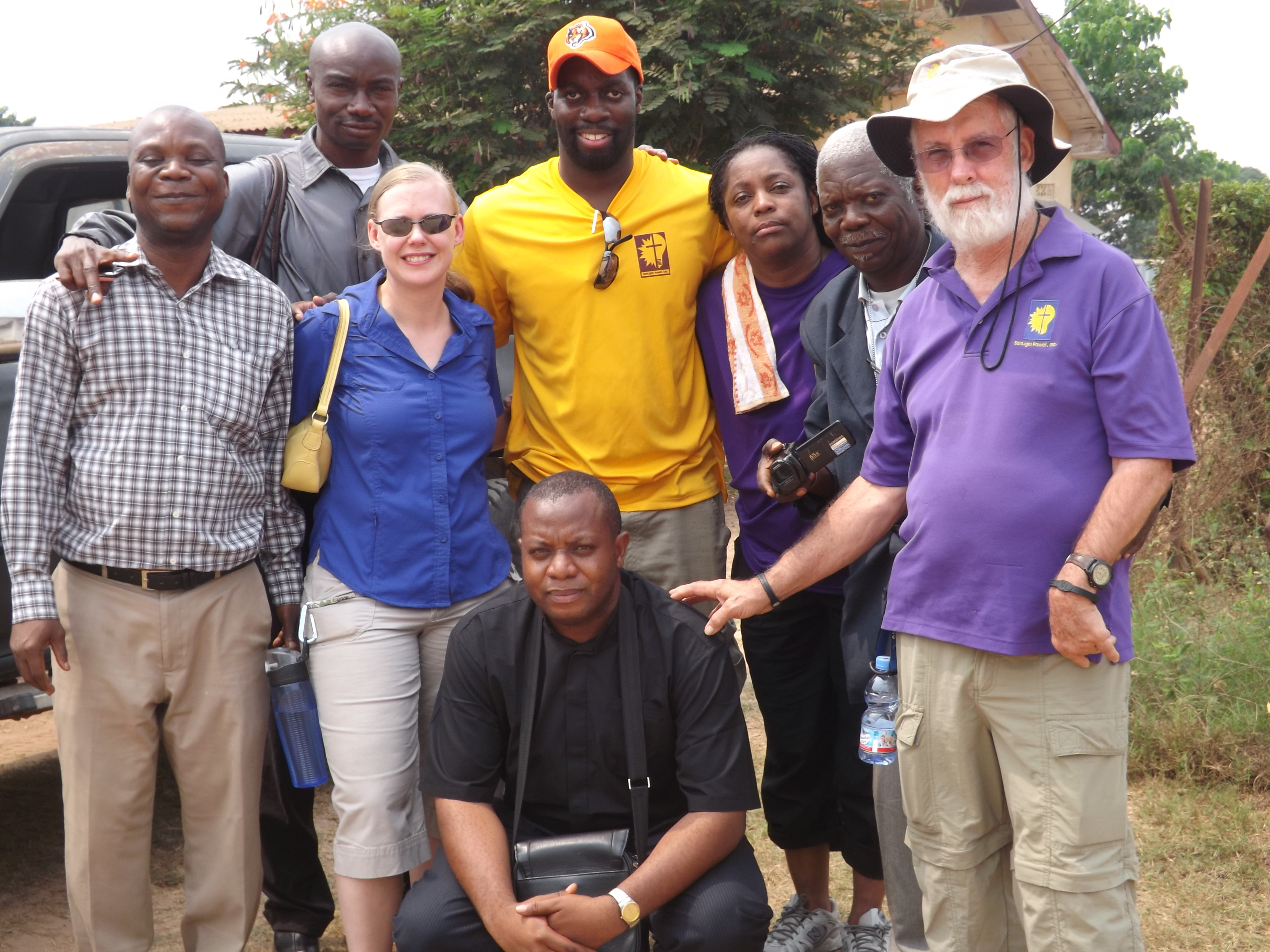 Arrival in Mbujimayi