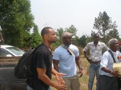 Arrival in Tshibombo