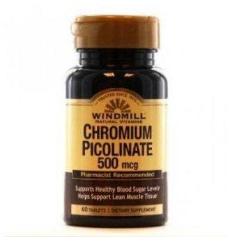 Chromium Picolinate presentacion 500 mg de Windmill